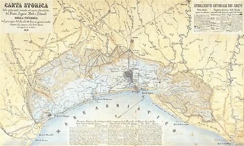 Litorale Veneto Cartina.Litorali Venezia